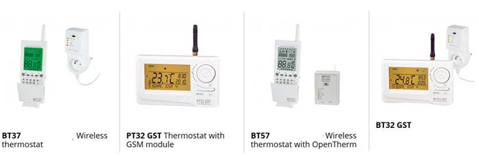 GSM thermostaat